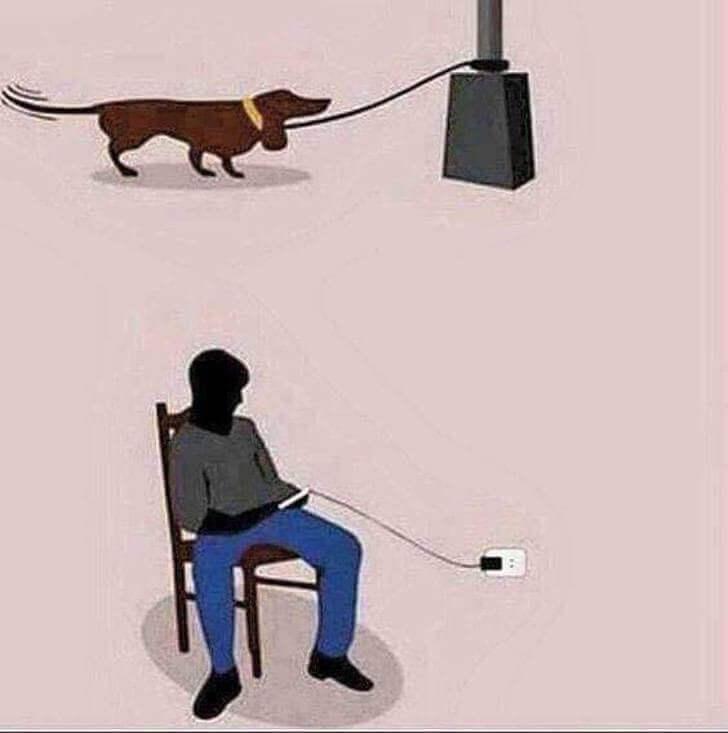 10 - 8 ilustrações que retratam o presente que vivemos