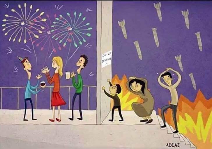 7 - 8 ilustrações que retratam o presente que vivemos