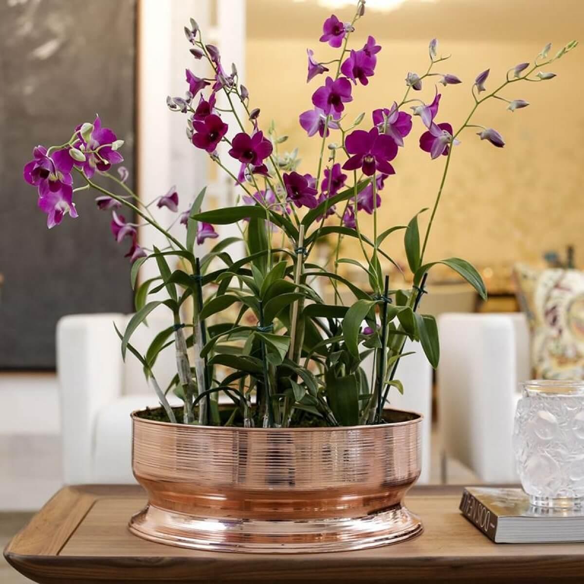centro de mesa spin cobre 41 cm st james midia 1 - O poder das Flores na sua casa... e na sua vida!
