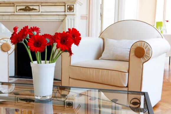 flores sala - O poder das Flores na sua casa... e na sua vida!