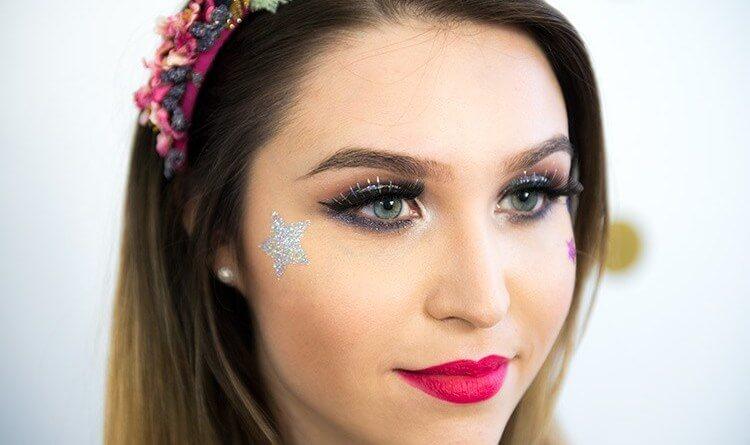 maquiagem para carnaval 2018 - Inspiração de Maquiagem pro Carnaval??? 16 fotos para ajudar você a se produzir!