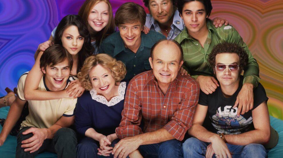 that 70s show 1 990x556 - As 5 melhores séries de comédia para ver na Netflix