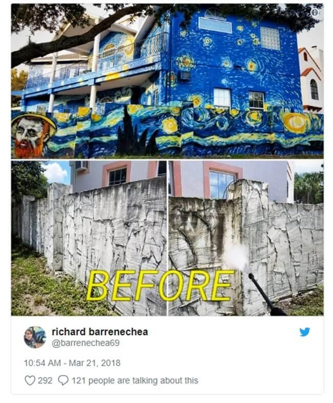 unnamed - Pais pintam a casa em 'estilo' Van Gogh para filho autista não se perder!