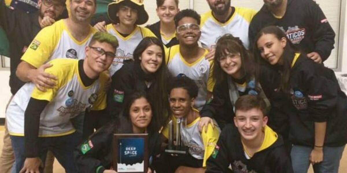brasil robótica e1556116563121 - Ouro do campeonato de robótica nos EUA, é de estudantes Brasileiros!