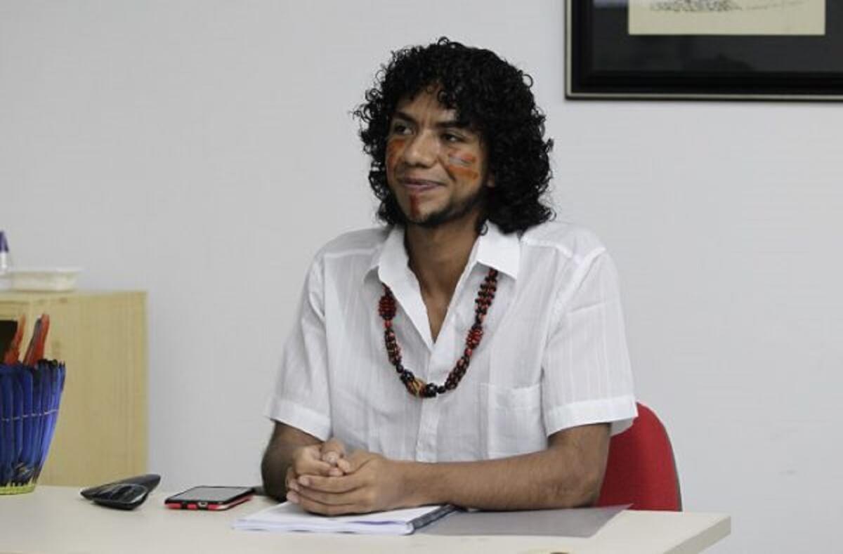 Indio pataxo interna e1557093242174 - UFBA tem o seu primeiro mestre Índio Pataxó, na Química