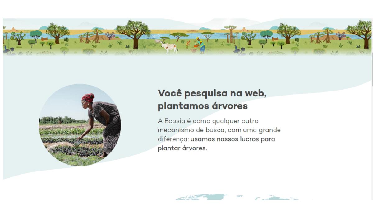 ecosia - Conheça o ECOSIA, um mecanismo de pesquisa que planta árvores!