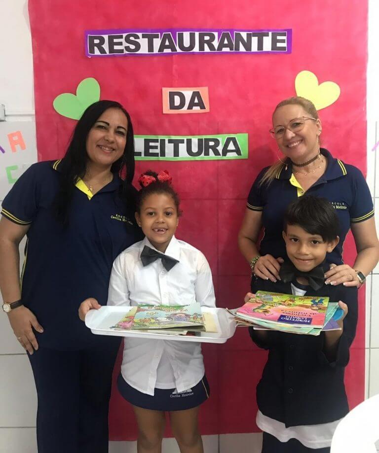 """whatsapp image 2019 05 17 at 154909 768x919 - A fim de estimular alunos a lerem, escola cria """"restaurante da leitura"""""""