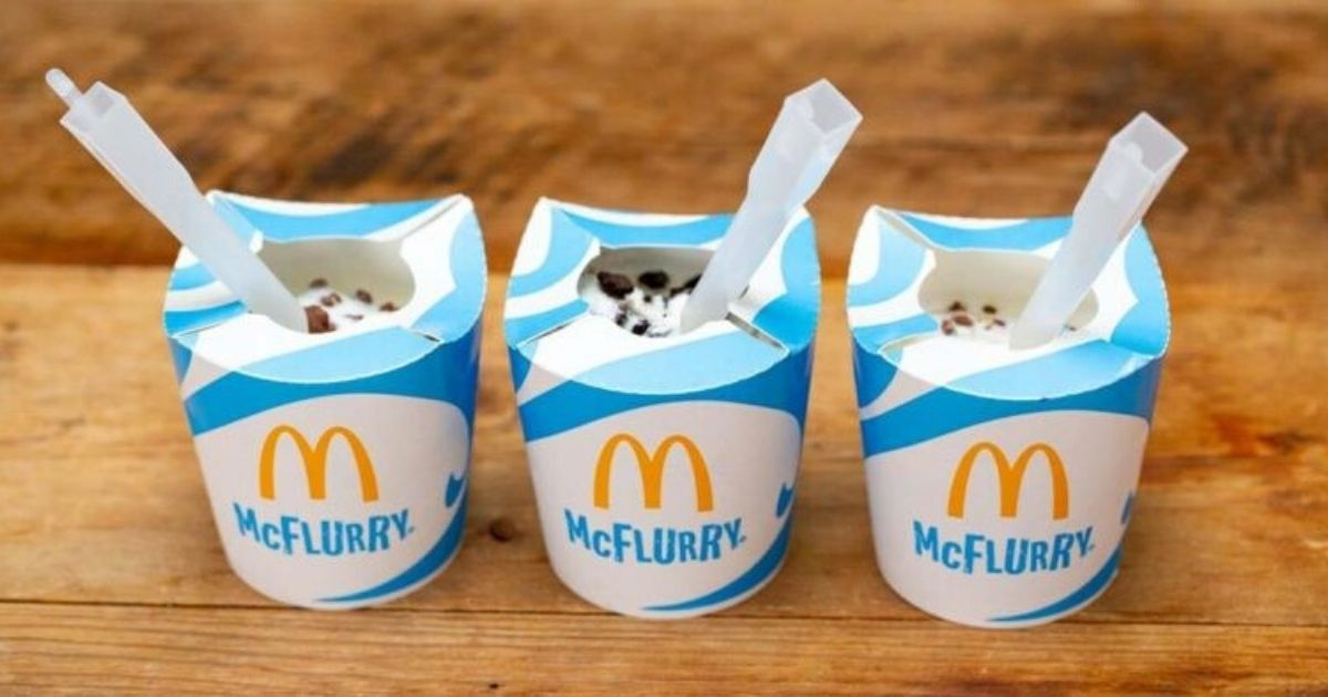 mcdonalds vai eliminar as tampas de plastico dos mcflurry 2 - Mc Donald's vai eliminar as tampas de plásticos das suas embalagens!