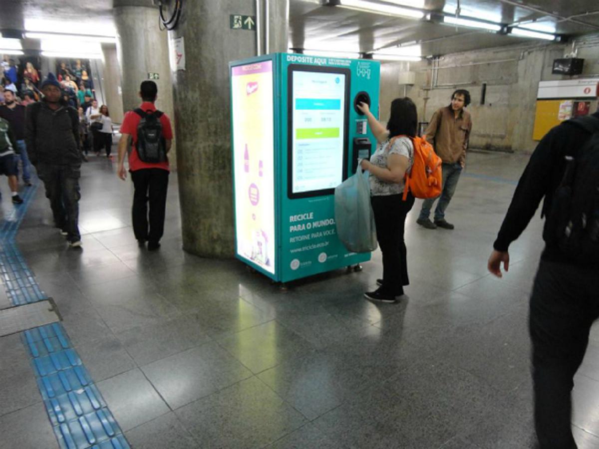 maquina5crop - Projeto que troca garrafas PET por crédito em transporte público começa em SP!