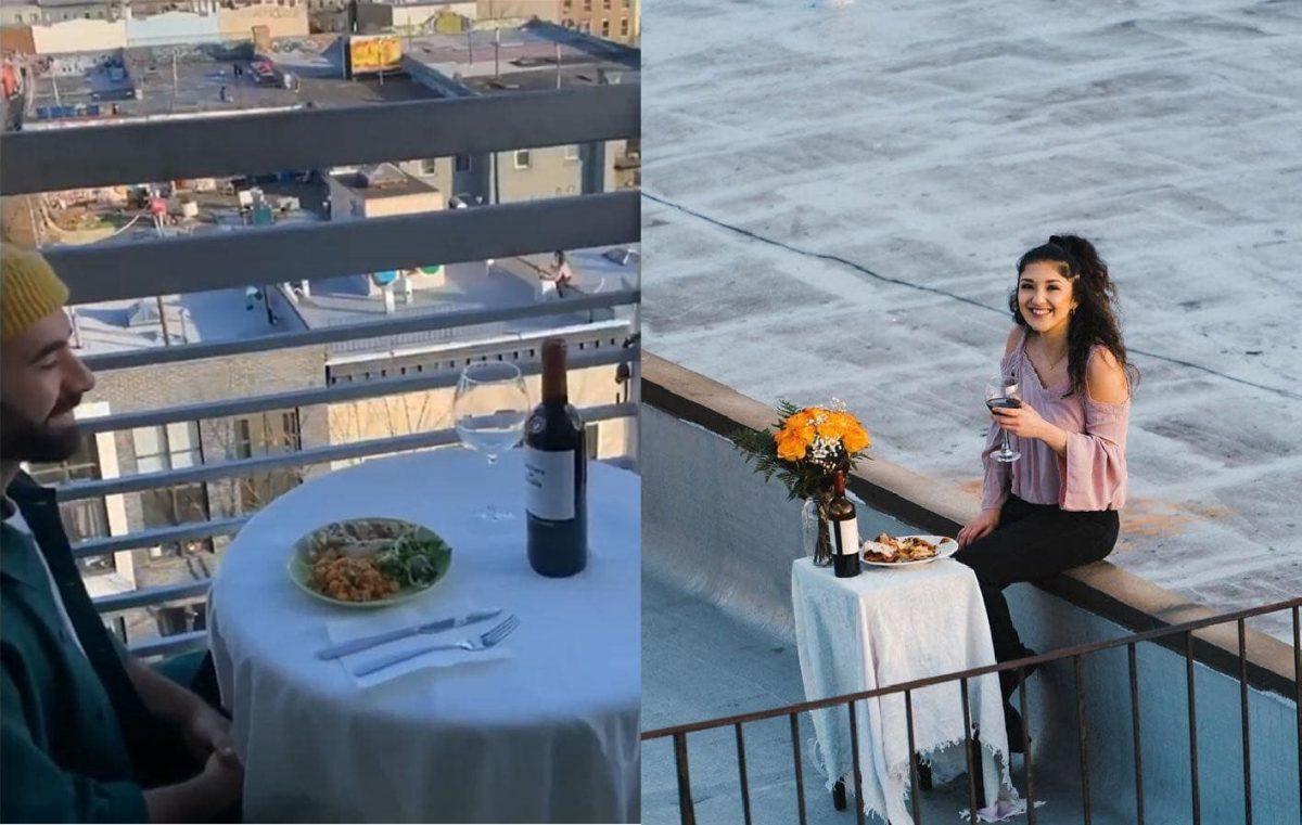 91139554 935002083584374 2369141670286458880 n 1 scaled - Jovens têm encontro romântico à distância nessa Quarentena e viralizam nas redes sociais