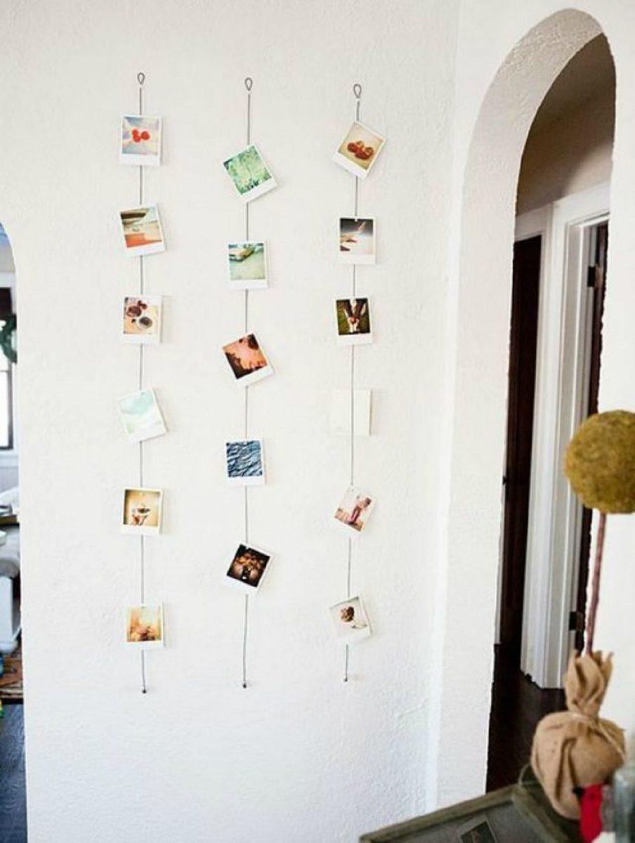 """35 Inspirações para você fazer uma Parede Decorada sem Tinta scaled - """"Um dia você é jovem, no outro já sonha em organizar sua casa!"""""""
