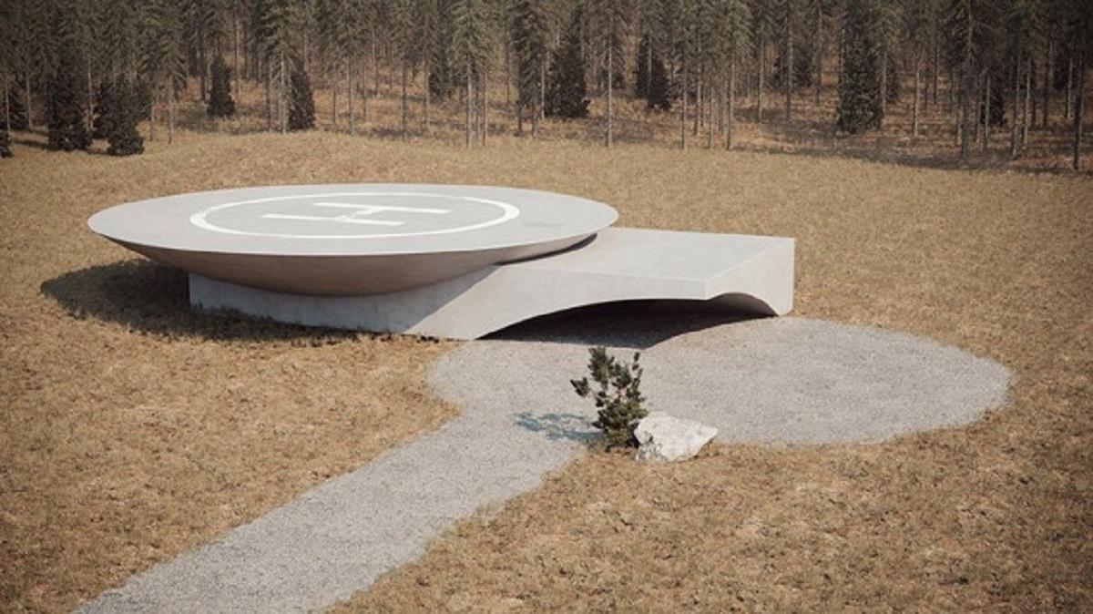 plan b underground bunker sergey12 - Uma Casa Bunker moderna, estilosa e minimalista no meio do campo