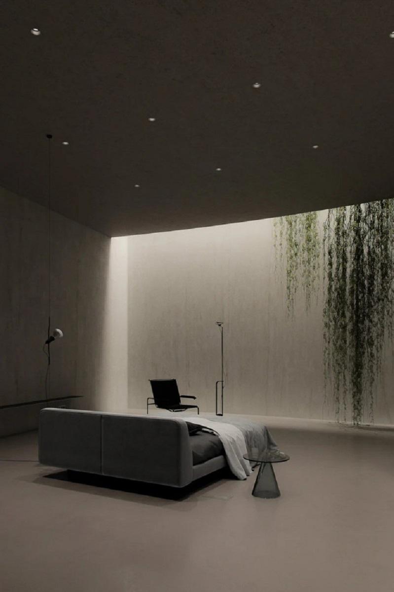 plan b underground bunker sergey6 - Uma Casa Bunker moderna, estilosa e minimalista no meio do campo